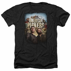 American Pickers Shirt Picker Poster Heather Black T-Shirt