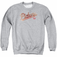 American Pickers Sweatshirt Distressed Logo Adult Athletic Heather Sweat Shirt