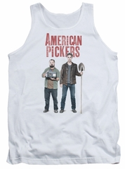 American Pickers Tank Top Mike And Frank White Tanktop