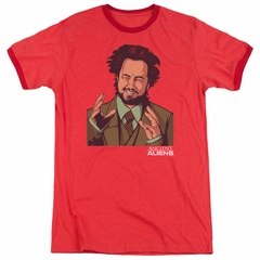 Ancient Aliens It Must Be Aliens Red Ringer Shirt