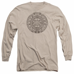 Ancient Aliens Long Sleeve Shirt Calender Sand Tee T-Shirt