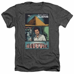 Ancient Aliens Shirt Comic Page Heather Charcoal T-Shirt