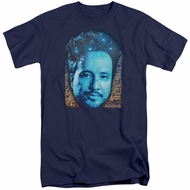Ancient Aliens Shirt Giorgio Tsoukalos Navy Blue Tall T-Shirt