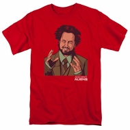 Ancient Aliens Shirt It Must Be Aliens Red T-Shirt