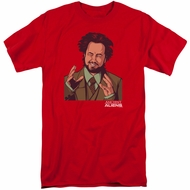 Ancient Aliens Shirt It Must Be Aliens Red Tall T-Shirt