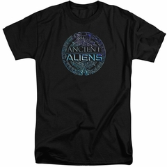 Ancient Aliens Shirt Symbol Logo Black Tall T-Shirt