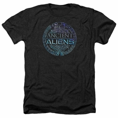 Ancient Aliens Shirt Symbol Logo Heather Black T-Shirt