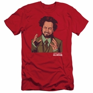 Ancient Aliens Slim Fit Shirt It Must Be Aliens Red T-Shirt