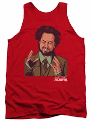 Ancient Aliens Tank Top It Must Be Aliens Red Tanktop