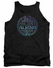 Ancient Aliens Tank Top Symbol Logo Black Tanktop