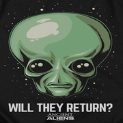 Ancient Aliens Will They Return Shirts
