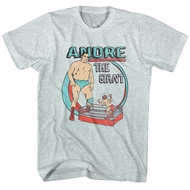 Andre The Giant Shirt Cartoon Ash T-Shirt