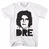 Andre The Giant Shirt Dre White T-Shirt