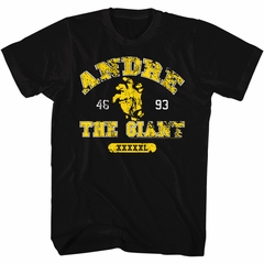Andre The Giant Shirt Hand Black T-Shirt