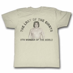 Andre The Giant Shirt Last Giant Natural T-Shirt