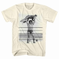 Andre The Giant Shirt Lightweight Natural T-Shirt