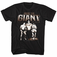 Andre The Giant Shirt Three Images Black T-Shirt