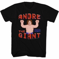Andre The Giant Shirt Video Game Black T-Shirt