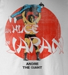 Andre The Giant T-Shirt – Huge Wrestling White Adult Tee Shirt