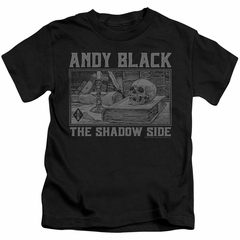 Andy Black Kids Shirt The Shadow Side 2 Black T-Shirt