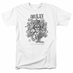 Andy Black Shirt The Shadow Side White T-Shirt