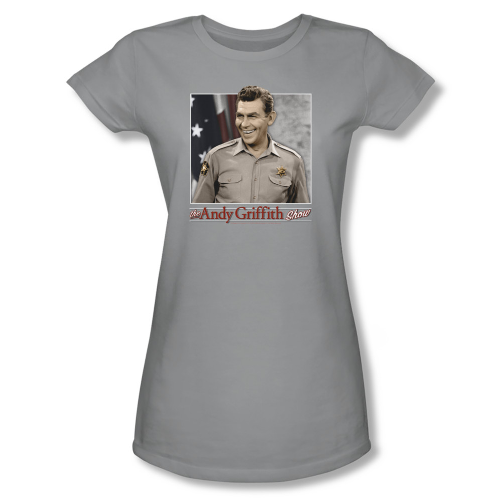 Andy griffith all american juniors tee t shirt andy for All american classic shirt