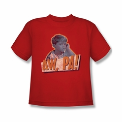 Andy Griffith Shirt Aw Pa Kids Shirt Youth Tee T-Shirt