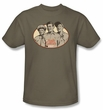 Andy Griffith Show Kids Shirt Funny Guys Youth Safari Green T-shirt