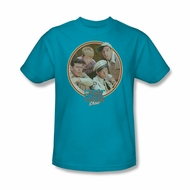 Andy Griffith Show Shirt Boys Club Turquoise Adult Tee T-Shirt