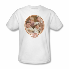 Andy Griffith Show Shirt Boys Club White Adult Tee T-Shirt