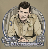 Andy Griffith Show Thanks For The Memories Shirts