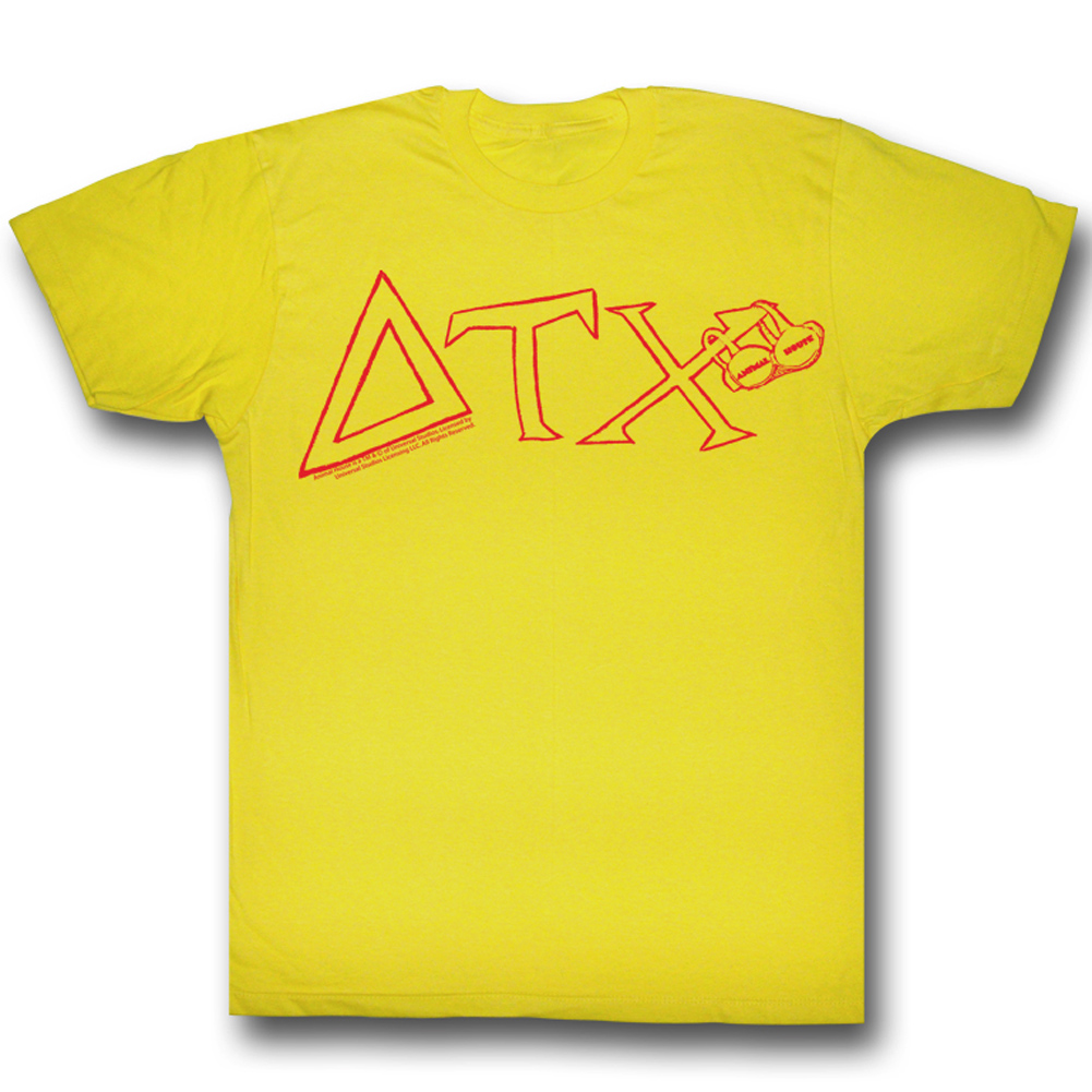 Animal house shirt toget adult yellow tee t shirt animal for Animal tee shirts online