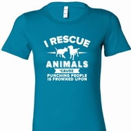 Animal Rescue Ladies Longer Length Shirt