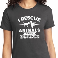 Animal Rescue Ladies Shirt