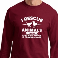 Animal Rescue Long Sleeve Shirt