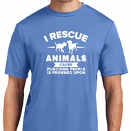 Animal Rescue Mens Moisture Wicking Shirt