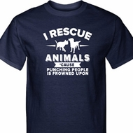 Animal Rescue Mens Tall Shirt