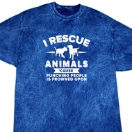 Animal Rescue Mineral Tie Dye Shirt