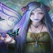 Anne Stokes Butterfly Fairy Sublimation Shirts