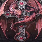Anne Stokes Dragon Cross Sublimation Shirts