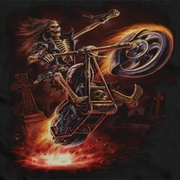 Anne Stokes Hell Rider Shirts