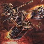 Anne Stokes Hell Rider Sublimation Shirts