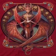 Anne Stokes Red Wings Shirts