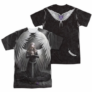 Anne Stokes Shirt Angels Prayer Sublimation Shirt Front/Back Print