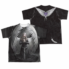 Anne Stokes Shirt Angels Prayer Sublimation Youth Shirt