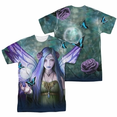 Anne Stokes Shirt Butterfly Fairy Sublimation Shirt Front/Back Print