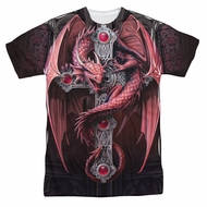Anne Stokes Shirt Dragon Cross Sublimation Shirt