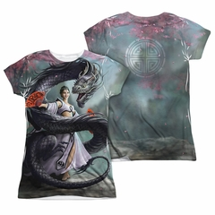 Anne Stokes Shirt Dragon Dance Sublimation Juniors Shirt