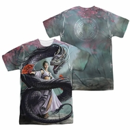 Anne Stokes Shirt Dragon Dance Sublimation Shirt Front/Back Print