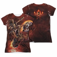 Anne Stokes Shirt Hell Rider Sublimation Juniors Shirt